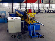 Pre-punching Z  Shape Cold Roll Forming Machine With Changeable Feeding Width